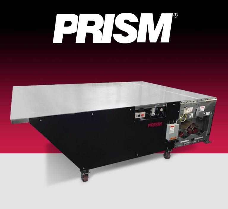 PRISM wrap table for large litho labels