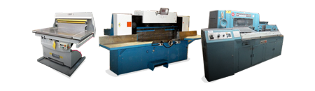 Shop for Used Paper Cutters and Paper Handlers