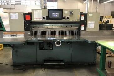 """Used 60"""" Dexter Lawson Paper Cutter MPU Machine"""
