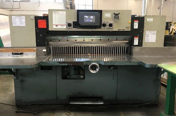 """Used Dexter Lawson 60"""" MPU Paper Cutter Machine"""