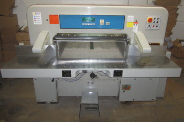 "Used 45"" Prism Paper Cutter 115 Machine"