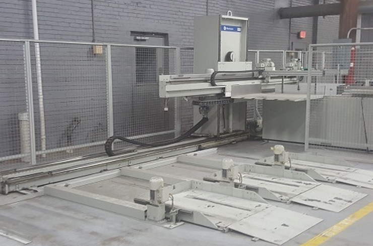 "Used Perfecta 52"" Perfecta 132 Cutting System Thumnail Photo Three"
