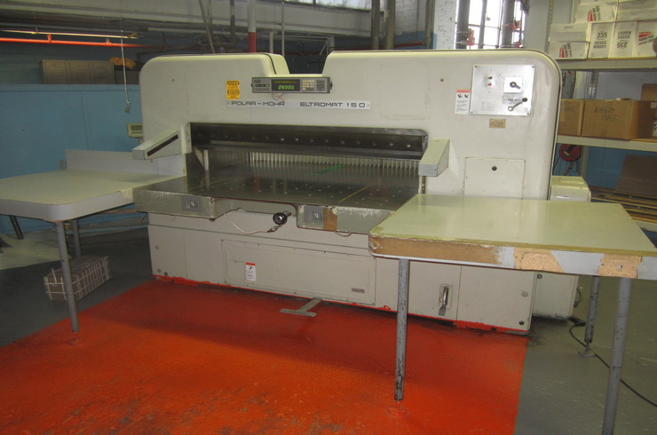 "Used Polar 59"" 150 EL Paper Cutter Machine"
