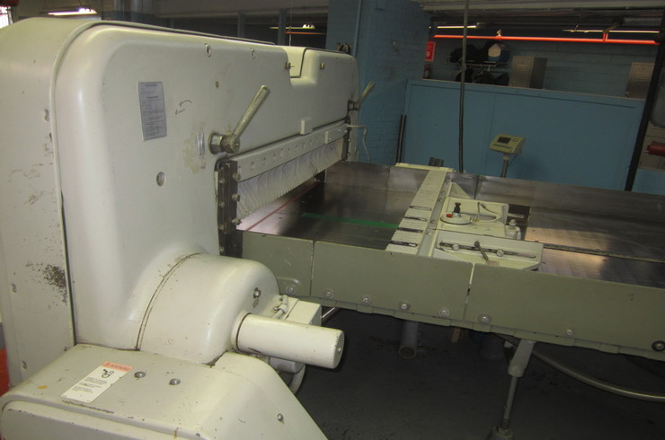 "Used Polar 59"" 150 EL Paper Cutter Thumnail Photo Two"