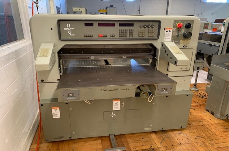 """Used Polar 36"""" 92 EMC  Paper Cutter Machine"""