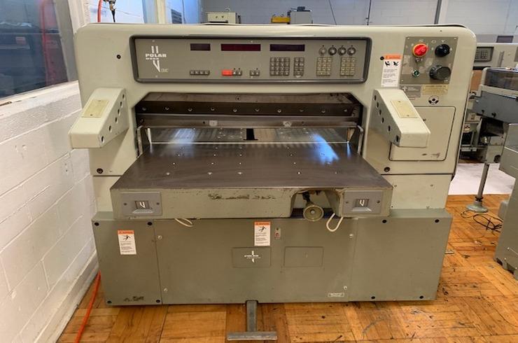 "Used Polar 36"" 92 EMC  Paper Cutter Thumnail Photo Three"