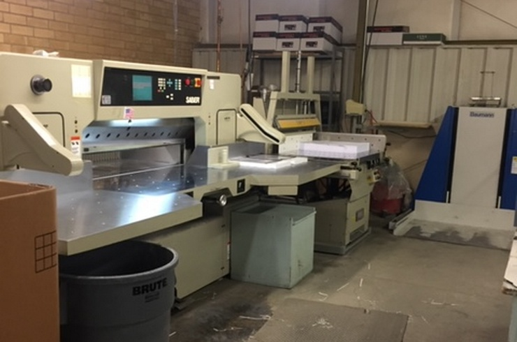 "Used Saber 54"" 137 Cutting System Machine"