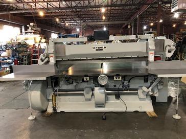 """Used 85"""" Harris Seybold Paper Cutter 85 CF Machine"""