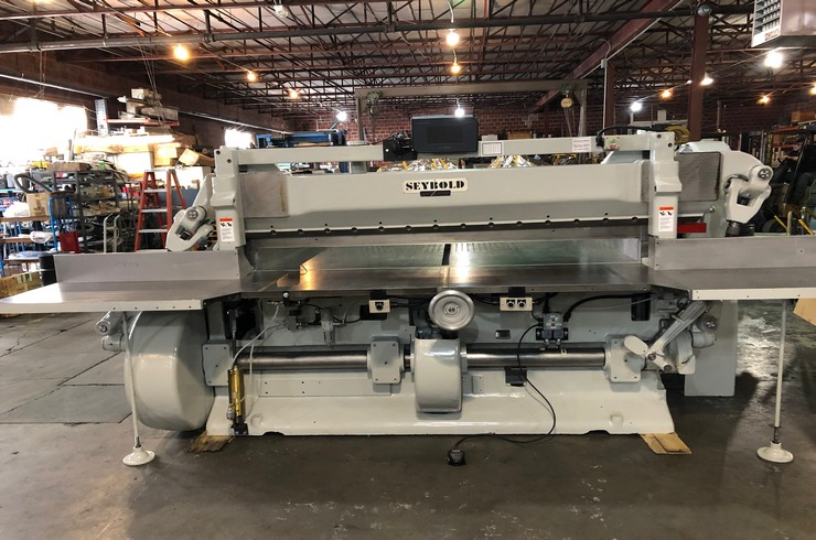 "Used Harris Seybold 85"" 85 CF Paper Cutter Machine"