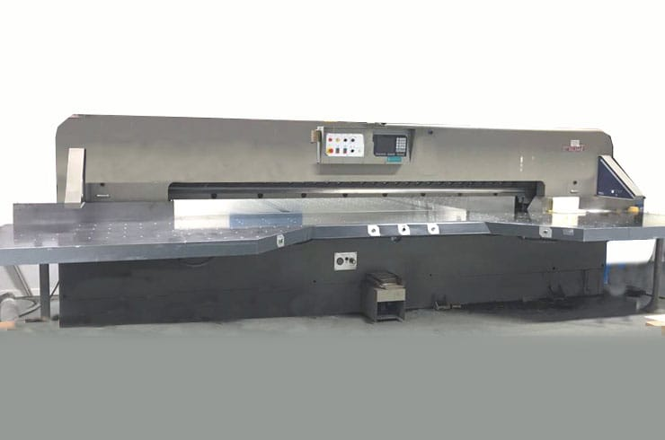 "Used Cauhe 144"" GH366 Paper Cutter Machine"