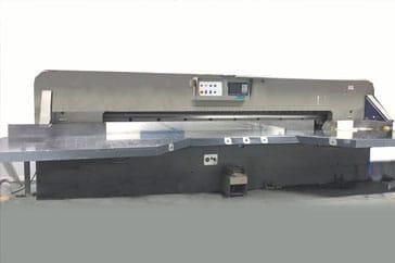"""Used 144"""" Cauhe Paper Cutter GH366 Machine"""