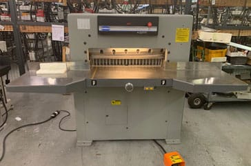 "Used 30"" Challenge Paper Cutter MCPB Machine"
