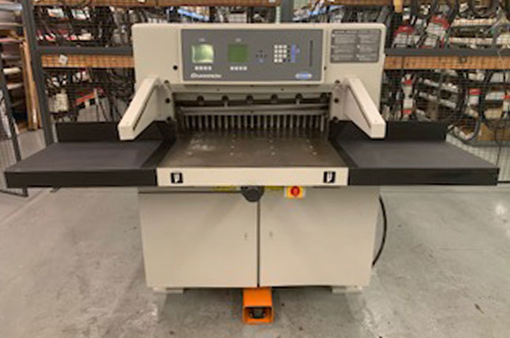 "Used Challenge 30"" 305 XG Paper Cutter Machine"