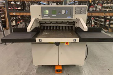 "Used 30"" Challenge Paper Cutter 305 XG Machine"