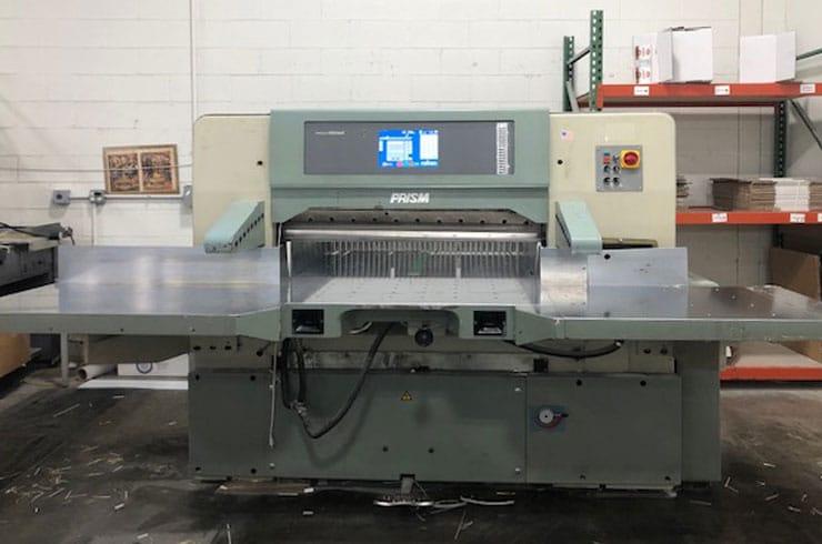 """Used Prism 45"""" P115 Paper Cutter Machine"""