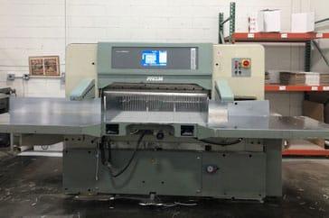 """Used 45"""" Prism Paper Cutter P115 Machine"""