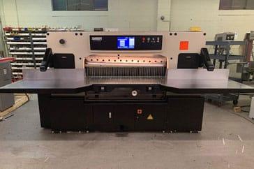 """Used 54"""" Saber Paper Cutter S137 Machine"""