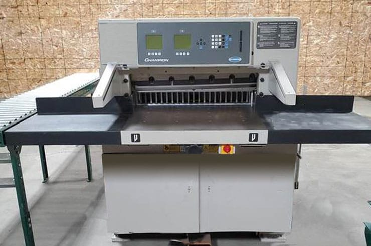 "Used Challenge 30"" XG Paper Cutter Machine"