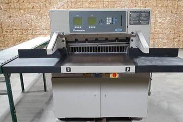 "Used 30"" Challenge Paper Cutter XG Machine"