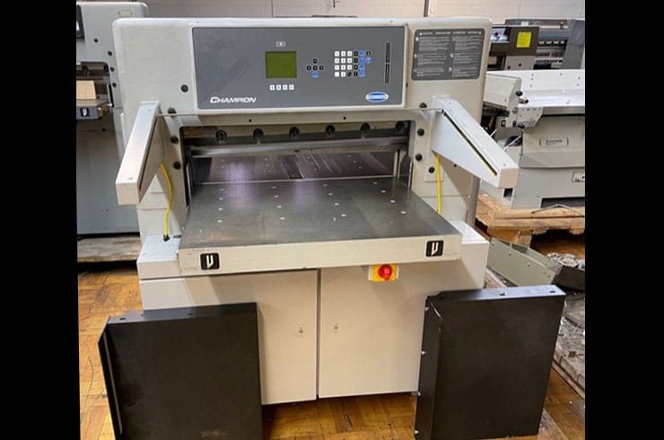 "Used Challenge 30"" XD Paper Cutter Machine"