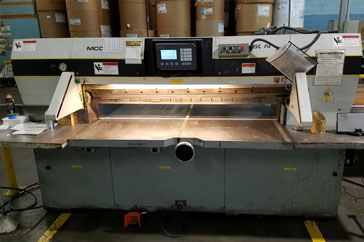 "Used 70"" Dexter Lawson Paper Cutter MCC Machine"