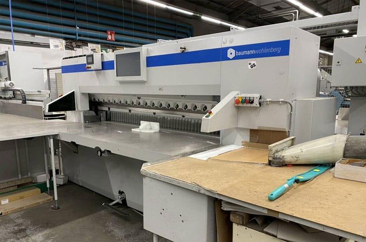 """Used Baumann 88"""" 225 Cutting System Machine"""