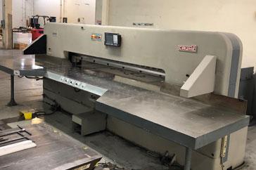 """Used 102"""" Cauhe Paper Cutter GH 260 Machine"""