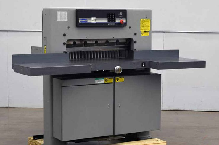 """Used Challenge 30"""" MPX Paper Cutter Machine"""
