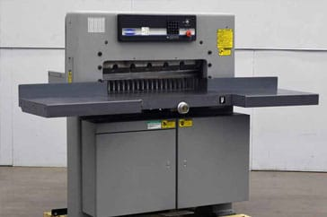 "Used 30"" Challenge Paper Cutter MPX Machine"