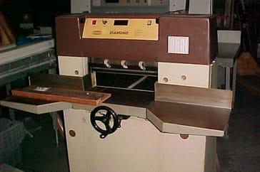 "Used 19"" Challenge Paper Cutter Diamond Machine"