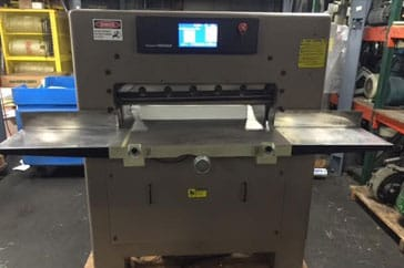 "Used 30.5"" Challenge Paper Cutter MPX Machine"