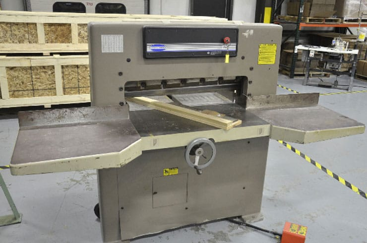 "Used Challenge 30.5"" MC Paper Cutter Machine"