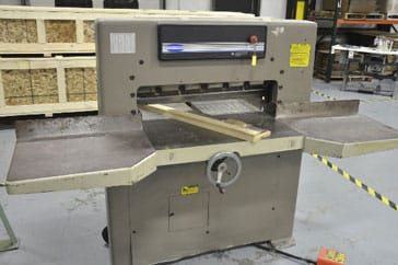 "Used 30.5"" Challenge Paper Cutter MC Machine"
