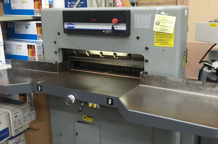 "Used Challenge 30.5"" MPC Paper Cutter Machine"
