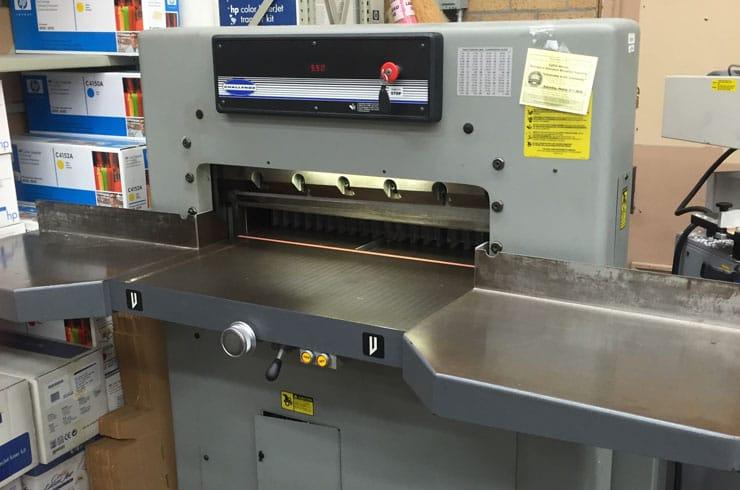 "Used Challenge 30.5"" MCPB Paper Cutter Machine"
