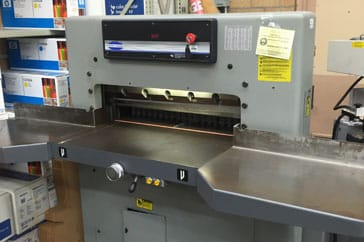 "Used 30.5"" Challenge Paper Cutter MCPB Machine"