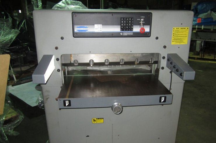"Used Challenge 30.5"" MPX Paper Cutter Machine"