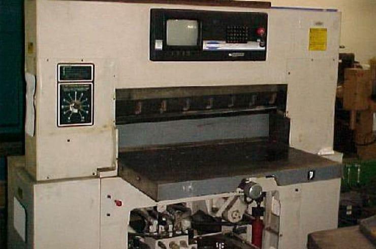 "Used Challenge 37"" 370 Paper Cutter Machine"