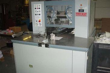 "Used 15"" Horauf Three-Knife Trimmer SN140 Demand Machine"