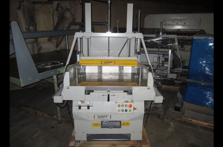 "Used Knorr "" RLA-3P Jogger Machine"