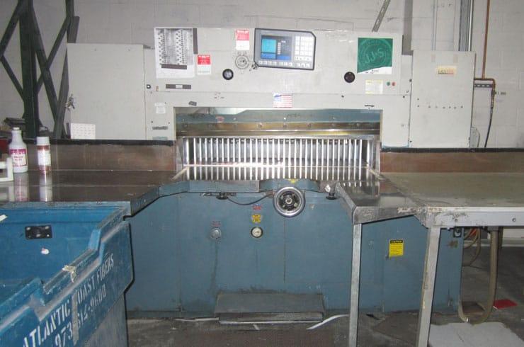 """Used 47"""" Dexter Lawson Paper Cutter MPU Machine"""