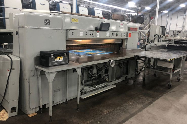 """Used Dexter Lawson 87"""" Pacemaker II Paper Cutter Machine"""