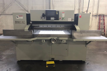 "Used 52"" Dexter Lawson Paper Cutter 52 MPU Machine"
