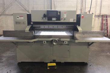"""Used 52"""" Dexter Lawson Paper Cutter 52 MPU Machine"""