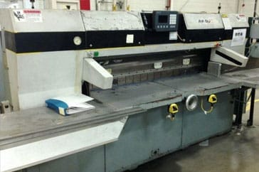 "Used 70"" Dexter Lawson Paper Cutter 70 MCC Machine"