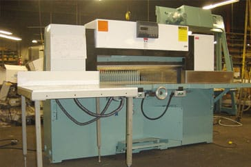 "Used 42"" Dexter Lawson Paper Cutter 42 MPU Machine"