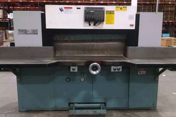 "Used 47"" Lawson Paper Cutter 47 MPU Machine"