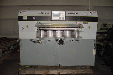 "Used 47"" Lawson Paper Cutter 47 MCC Machine"