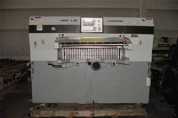 "Reconditioned 47"" Lawson Paper Cutter 47 MCC Machine"