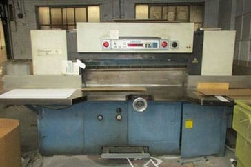 "Used 52"" Lawson Paper Cutter 52 MPU Machine"